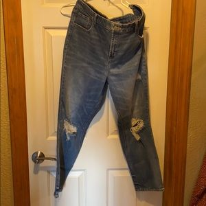 Old Navy, high waisted, power straight Jean